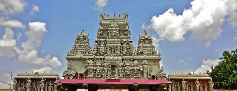 Annapurna temple in Indore