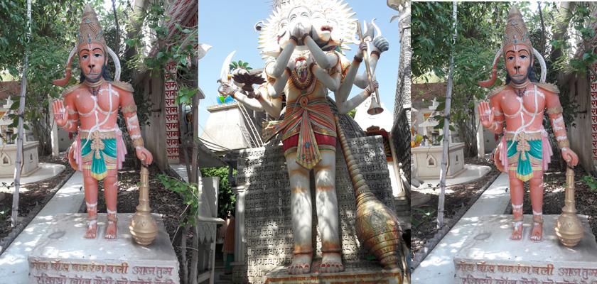 श्रीराम मंदिर कनाडीया रोड इंदौर